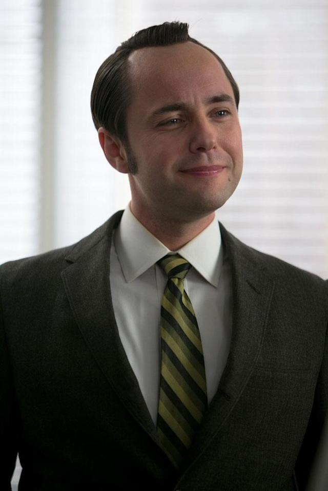 "Pete Campbell (Vincent Kartheiser) in the ""Mad Men"" episode, ""Favors."""