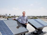 US company Zero Mass Water's 'hydropanels', which produce water from sunlight and air, are being used in towns in schools in regional Australia