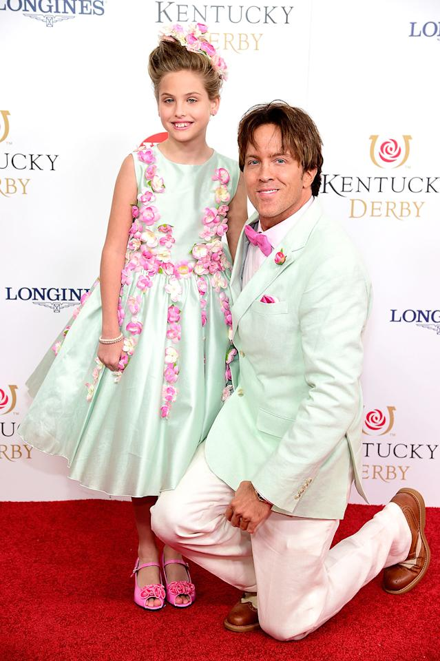 "<p>Derby Day has special significance for the Birkheads: It's where Larry — who hails from Louisville, Ky. — met Anna Nicole in May 2004. Larry once told <em>USA Today</em> that it's the duo's <a rel=""nofollow"" href=""https://www.usatoday.com/story/life/people/2015/05/04/anna-nicole-smith-daughter-dannielynn-birkhead-derby/26881559/"">""one big dad-daughter date of the year.""</a> Dannielynn and her dad hit up the 142nd Kentucky Derby in 2016 wearing coordinated outfits per usual. (Photo: Frazer Harrison/Getty Images for Churchill Downs) </p>"