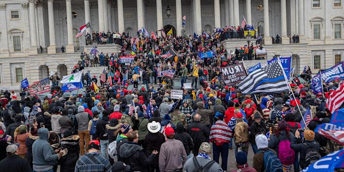 Uprising in the US Capitol