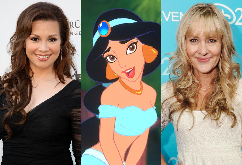 Jasmine (singing= Lea Salonga) (voice= Linda Larkin)