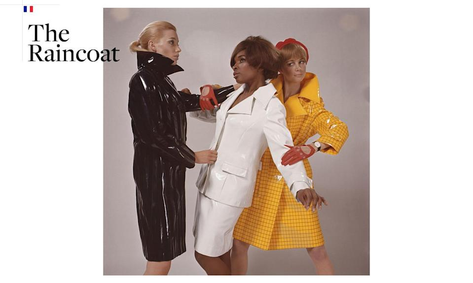 <p>Not to be confused with Britain's mackintosh coat, the first yellow raincoat was invented by Guy Cotten in an effort to improve the outerwear for commercial fisherman. Thanks to a combination of resilient oilskins and nylon fabric, he invented a jacket that was lighter and easier to fasten (double Velcro!) than his competitors in 1966. The brand is still going strong, making heavy-duty jackets in multiple colors like the one shown here — and of course in Gorton's fisherman yellow. <i>(Photo: Getty Images)</i></p>