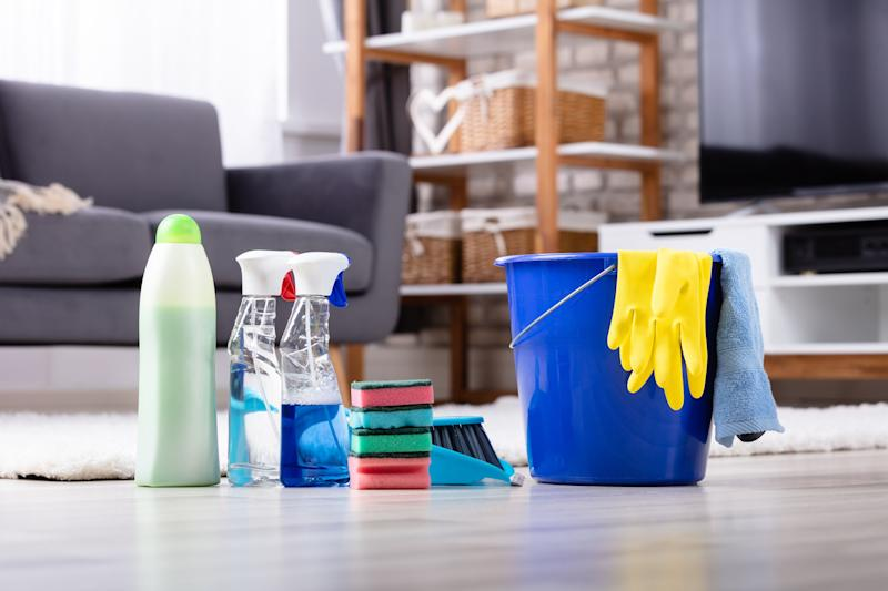 There is a list of pre-approved cleaning products to sanitize surfaces amid the COVID-19 pandemic. (Photo: AndreyPopov via Getty Images)