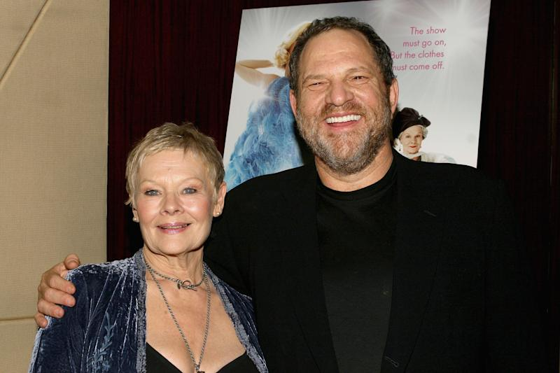 Judi Dench has credited Harvey Weinstein for helping her career. (Photo: Scott Wintrow/Getty Images)