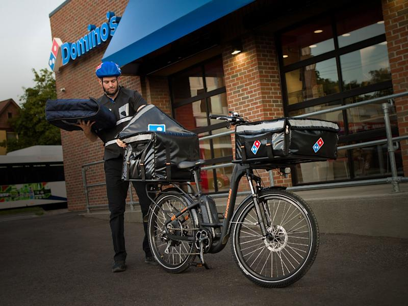 Domino's Partners With E-bike Company to Improve Urban Delivery