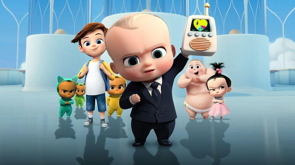 "<p>Fans of the movie <em>The Boss Baby</em> will also love its spin-off series, which stars the same achievement-oriented infant as his plans to run Baby Corp bump up against his life as, well, a baby. (Stinky diapers happen to even the most powerful baby CEOs.)</p><p><a class=""link rapid-noclick-resp"" href=""https://www.netflix.com/title/80178943"" rel=""nofollow noopener"" target=""_blank"" data-ylk=""slk:WATCH NOW"">WATCH NOW</a></p>"