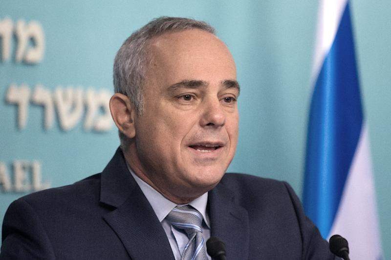 Israeli energy minister Yuval Steinitz, pictured in 2015, confirmed Prime Minister Netanyahu's hints that Israel has unofficial contacts with Arab states such as Saudi Arabia (AFP Photo/MENAHEM KAHANA)
