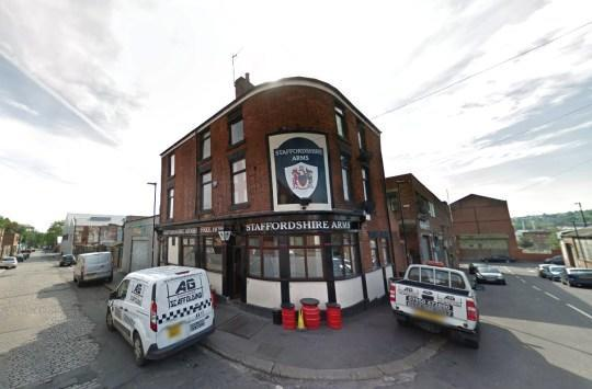 """The nearby Staffordshire Arms in Burngreave was still """"shamelessly"""" serving customers after it was ordered to close earlier this month. (GOOGLE)"""
