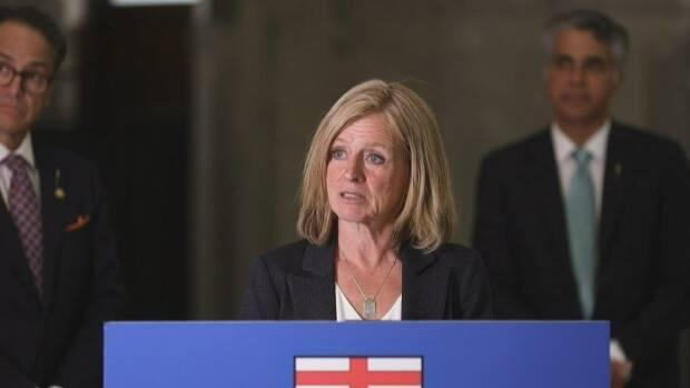 Alberta NDP Leader Rachel Notley says the UCP government is 'gutting' the quality of post-secondary education in the province. (Alberta NDP  - image credit)
