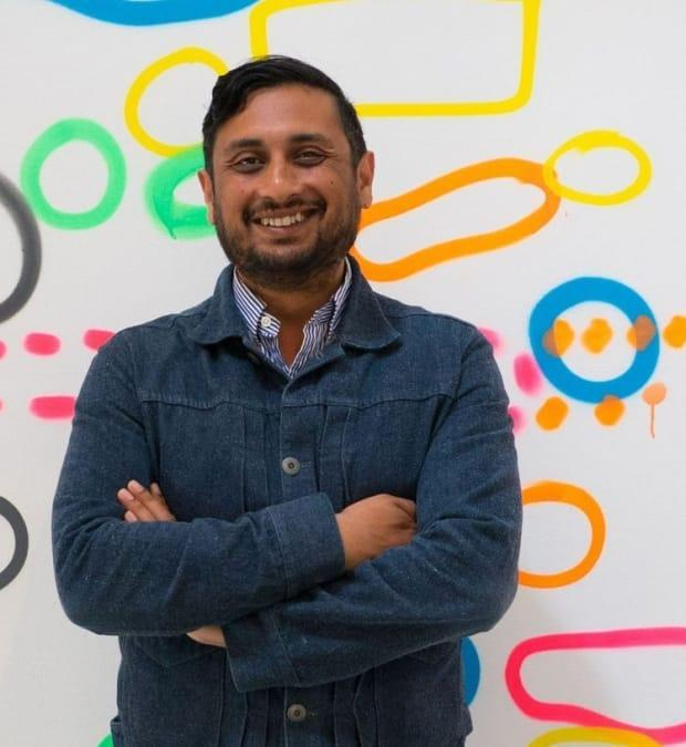 Adhiraj 'Raj' Sen, 42, was the executive director of Open Space, a non-profit artist-run centre in downtown Victoria. He died March 7 from complications due to cardiac arrest. (Facebook/openspacevic - image credit)