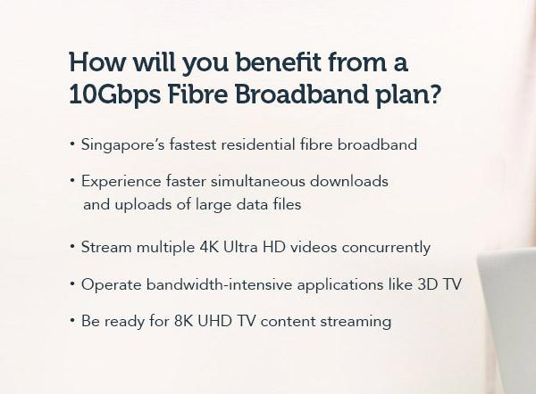 You can now sign up for Singtel's crazy-fast 10Gbps fiber broadband plan
