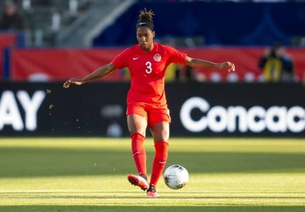 Canada defender Kadeisha Buchanan, seen during a game in 2020, returns to the national setup after missing the past two camps due to travel and medical reasons. (Michael Janosz/ISI Photos/Getty Images - image credit)