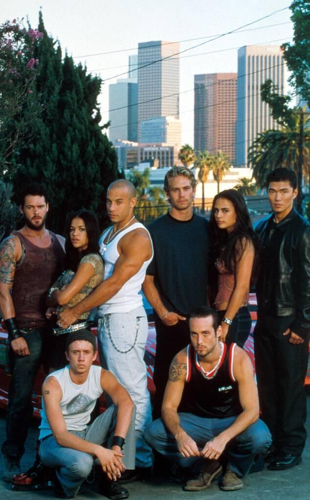 Chad Lindberg, Vin Diesel, Paul Walker, Johnny Strong, Jordana Brewster, Rick Yune, Fast and the Furious