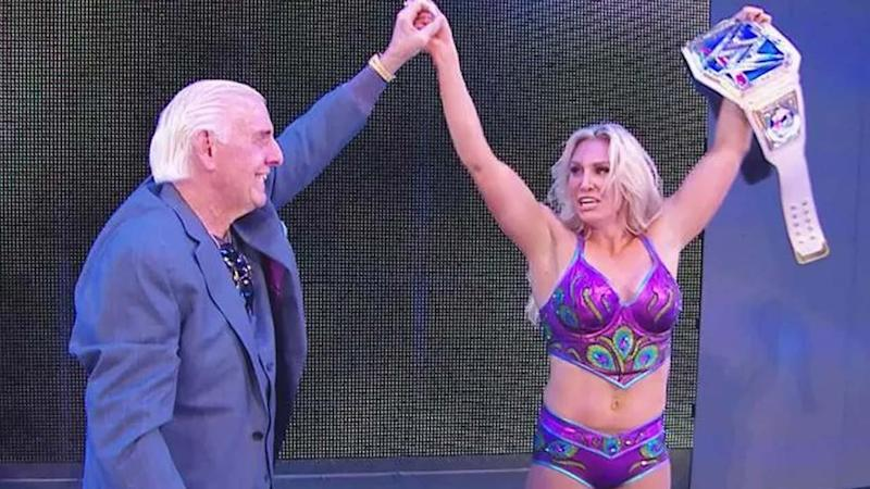 Ric Flair Makes an Emotional Surprise Appearance at WWE Smackdown as Daughter Charlotte Wins Women's Title