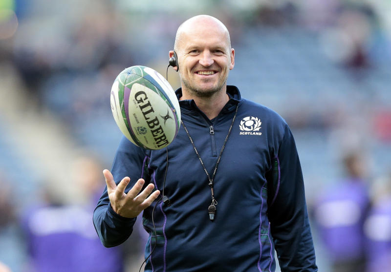 Scotland's head coach, Gregor Townsend before play against Georgia in an International Friendly at BT Murrayfield Stadium, Edinburgh. (Photo by Graham Stuart/PA Images via Getty Images)