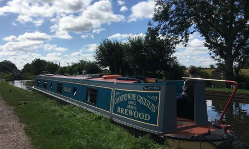 The ripple effect: a leisurely boating break in Shropshire