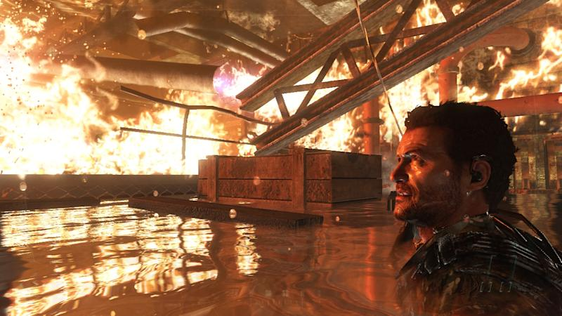 """This video game image released by Activision shows a scene from """"Call of Duty: Black Ops II."""" (AP Photo/Activision)"""