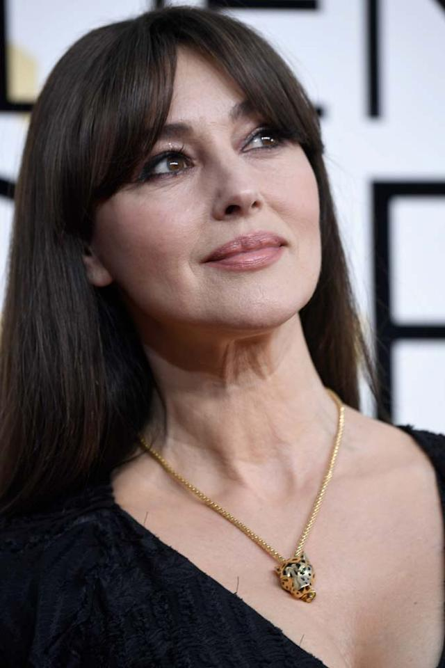 <p>La bellezza senza tempo di Monica Bellucci ai Golden Globes Awards 2017. </p>