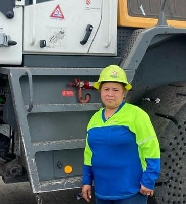 Victoria Barragan, 2021 National Operator of the Year