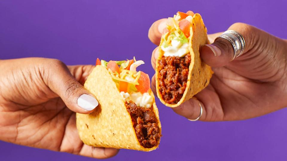 Taco Bell plant-based meat