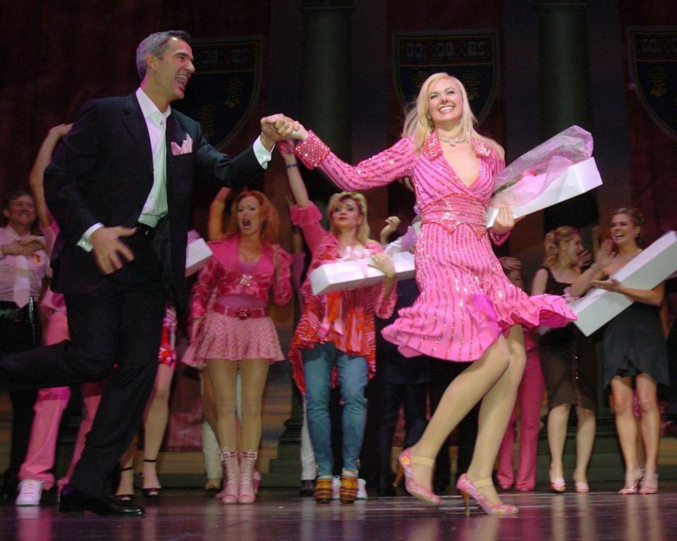 """<p>The """"bend-and-snap"""" hit headed to Broadway in 2007, with Laura Bell Bundy as the ambitious and determined Elle Woods–a sorority girl who enrolls at Harvard Law School. An MTV reality show documented the process of casting a new Elle Woods to fill Reese Witherspoon's shoes, but the stunt failed to garner much attention. The show struggled to enroll a captive audience and was pulled from Broadway after just one year. </p>"""