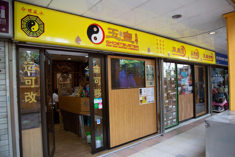 Opened since 2004, the shop sits between a local cafe and a maid agency. (PHOTO: Dhany Osman/Yahoo News Singapore)