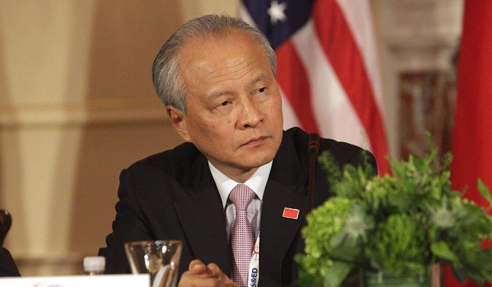 Ambassador to the US Cui Tiankai is one of the few Chinese officials – along with Xie – to remain in his post past the Communist Party's retirement age of 65. Photo: AFP