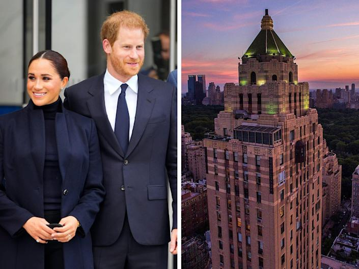 meghan and harry and the carlyle hotel