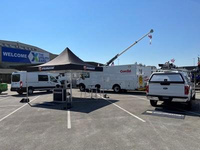 At this year's Utility Expo, Utilimaster is showcasing three vehicle platforms: an Aeromaster® walk-in van, Ford Transit Cargo Van, and Ford F-150 Pickup Truck.