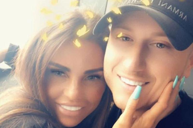 Loved up: Katie Price and Kris Boyson (Instagram / Katie Price)