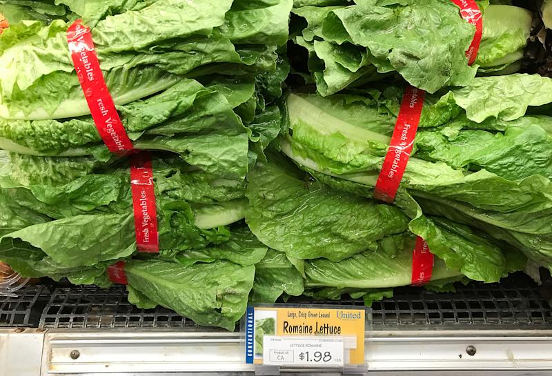 One Person Dies/Romaine Lettuce E-Coli Outbreak