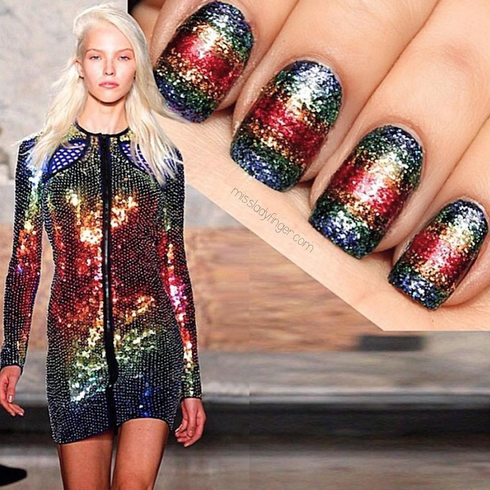 Meghan Mccain Shows Her True Colors: New Year's Nails: 17 Manicure Ideas To Ring In 2017