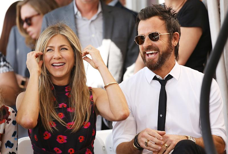 Jennifer Aniston And Justin Theroux Wedding.Jennifer Aniston And Justin Theroux Are Celebrating Their Second