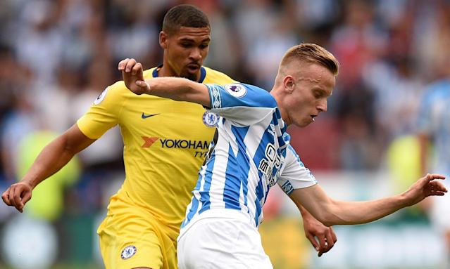 Ruben Loftus-Cheek was a second-half substitute for Chelsea in their opening Premier League victory against Huddersfield Town.