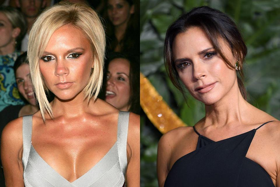 <p>Given that Victoria's gone from being a Spice Girl to a fashion designer over the course of her career, it's no surprise that her beauty has evolved as well. The mogul has as of late swapped out the blunt bob she rocked for so many years in favor for a chic long style.</p>