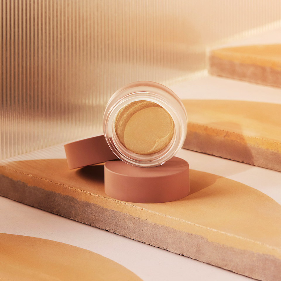 """Highlighter is my ultimate product for looking instantly more awake. On days when I don't feel like wearing any other makeup but want to look a little glowier, I reach for this creamy highlighter by the newly launched beauty brand, Minori. The formula melts right into my skin and has the ideal amount of luminosity to look amazing both in person and on IG. I'm particularly into the shade """"Golden,"""" which recreates that golden-hour glow at any time of day. —<em>Sarah Y. Wu, contributor</em> $32, Minori Beauty. <a href=""""https://www.minoribeauty.com/shop-product?product=cream-highlighter"""" rel=""""nofollow noopener"""" target=""""_blank"""" data-ylk=""""slk:Get it now!"""" class=""""link rapid-noclick-resp"""">Get it now!</a>"""