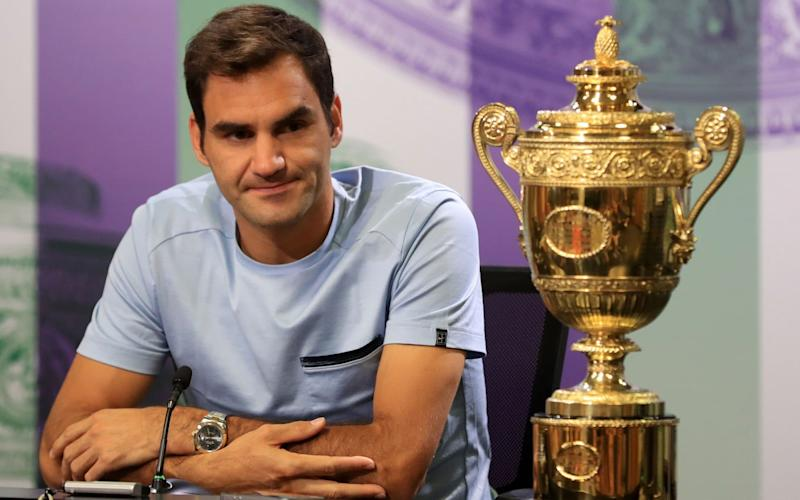 Roger Federer is a man on a mission  - PA