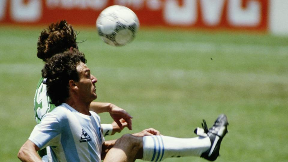 José Luis Cuciuffo, lateral derecho. | Mike King/Getty Images
