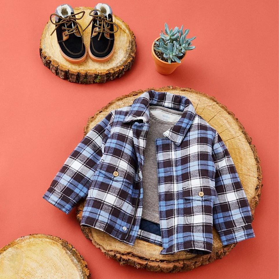 """<p>""""The kids range at <a href=""""http://www.monoprix.fr/"""">Monoprix</a> is brilliant, and you can also get great T-shirts for yourself for cheap. A good t-shirt is the foundation for all of the best French outfits. You can also go here to get discounted silk scarves which is key to pulling off the essential Parisian look."""" <i>Photo: <a href=""""https://instagram.com/monoprix/"""">Instagram/Monoprix</a></i></p>"""
