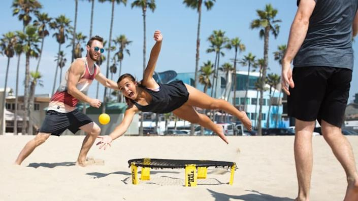 Don't be surprised when people start getting competitive over Spikeball.