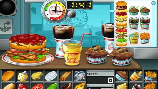 Burger (sumber: PlayStore)