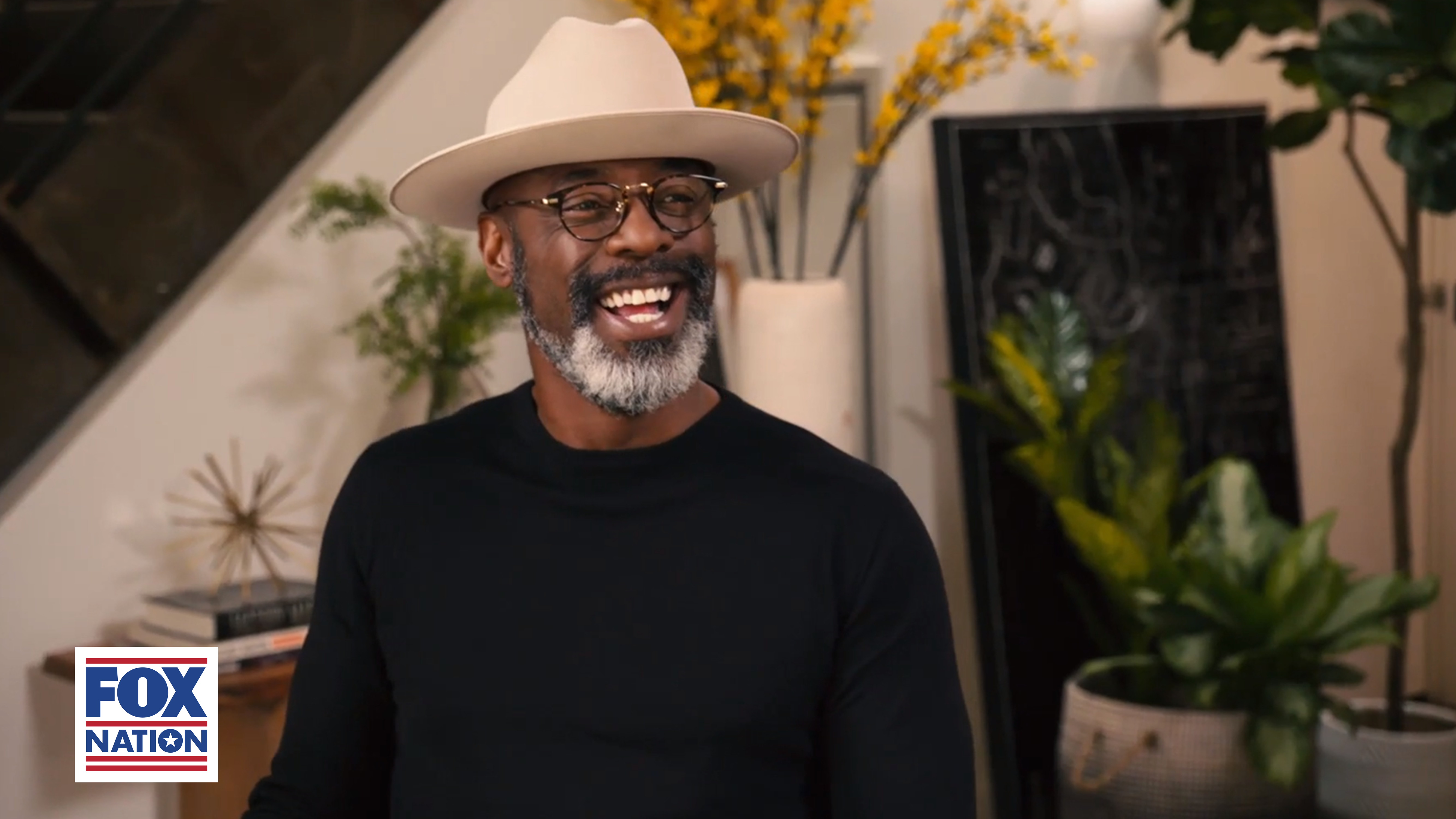 Isaiah Washington's new show, Kitchen Talk, is currently streaming on Fox Nation. (Photo: Fox Nation)