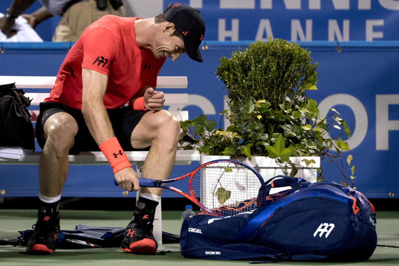 Fatigued Murray withdraws from Citi Open, Rogers…