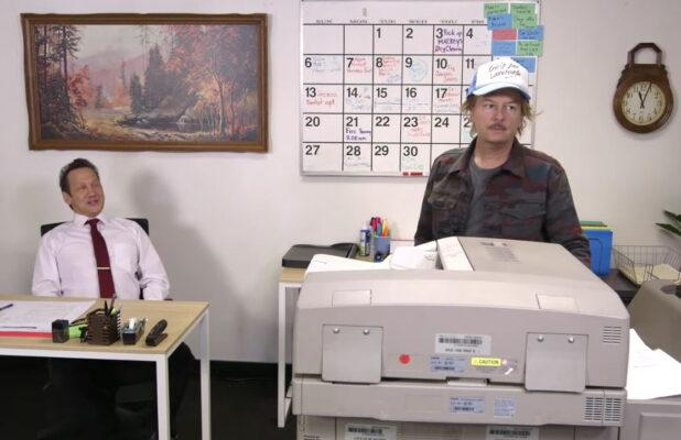Rob Schneider Brings Back 'Makin' Copies' Guy From 'SNL' – Finds Out Nobody Makes Copies (Video)