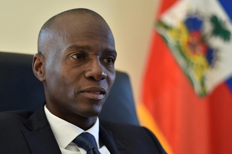 Jovenel Moise topped the polls in Haiti's presidential election in November