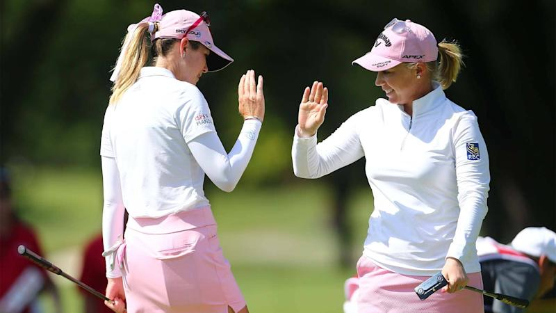 Creamer, Pressel one back at Dow Great Lakes, looking to impress Inkster