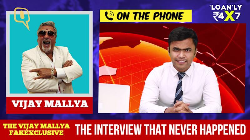 Vijay Mallya Fakexclusive: The Interview That Never Happened
