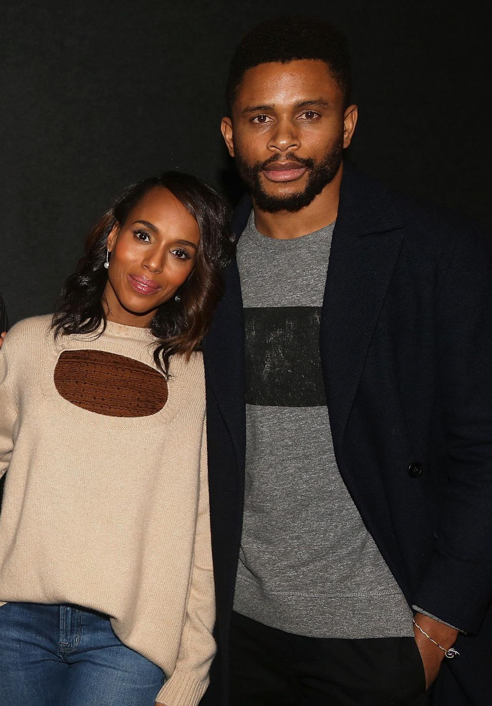 "<a href=""https://www.huffpost.com/entertainment/topic/kerry-washington"" target=""_blank"" rel=""noopener noreferrer"">Kerry Washington</a> is as good at keeping a secret as her ""Scandal"" character, Olivia Pope. The actress wed former San Francisco 49ers player Nnamdi Asomugha in 2013 and the couple reportedly now have <a href=""https://www.refinery29.com/en-us/2018/10/215400/kerry-washington-has-three-children"" target=""_blank"" rel=""noopener noreferrer"">three kids.</a> <br /><br><br><br />During a <a href=""https://www.eonline.com/news/748602/kerry-washington-speaks-out-on-nnamdi-asomugha-divorce-rumors"" target=""_blank"" rel=""noopener noreferrer"">2016 South by Southwest panel</a> in Austin, Washington opened up about why she prefers to keep her private life private. <br /><br><br><br />""If I don't talk about my personal life, it means I don't talk about my personal life,"" <a href=""https://www.eonline.com/news/748602/kerry-washington-speaks-out-on-nnamdi-asomugha-divorce-rumors"" target=""_blank"" rel=""noopener noreferrer"">she said.</a> ""That means not only did I not tell you when I was getting married, it also means if somebody has rumors about what's going on in my marriage, I don't refute them, because I don't talk about my personal life."""
