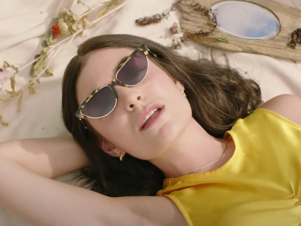 Lorde in the 'Solar Power' video (Universal)