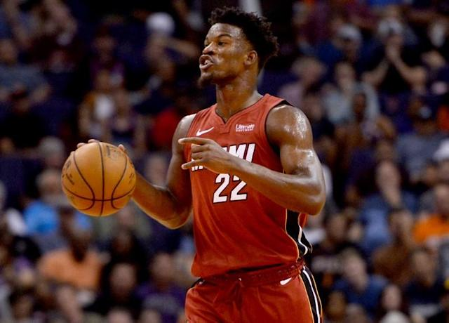 NBA: Miami Heat at Phoenix Suns